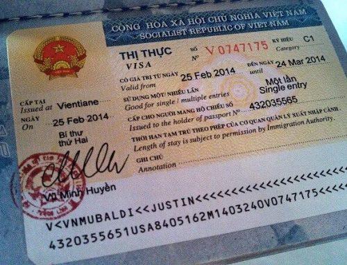 Thủ tục xin visa cho người lao động nước ngoài tại Việt Nam